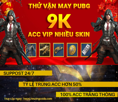 #1.0 Acc Pubg Mobile 9k – Loại Android