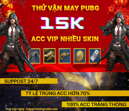 Acc Pubg Mobile 15k – Loại Android