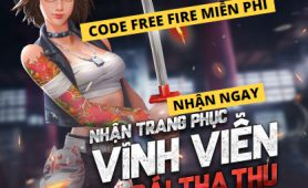Nhận GIFTCODE Free Fire 2020 miễn phí | code FF